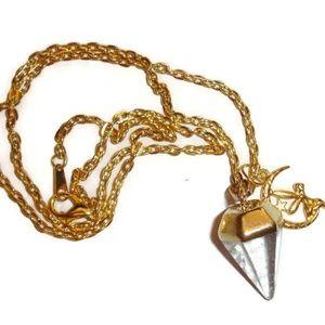 Pendulum Necklace Quartz  Pendulum Quartz Necklace